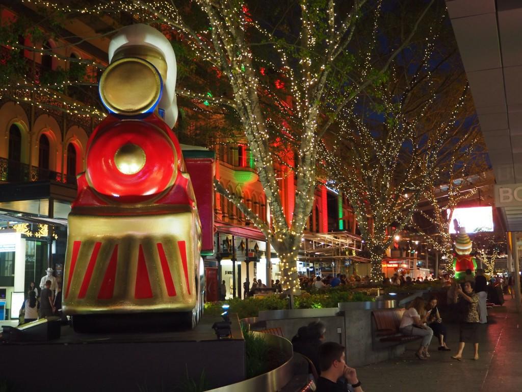 Christmas date in Brisbane