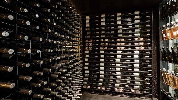Dea & Daz's wine cellar