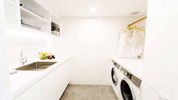 Josh & Charlotte's laundry