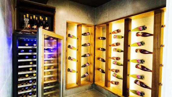 Josh & Charlotte's Wine Cellar