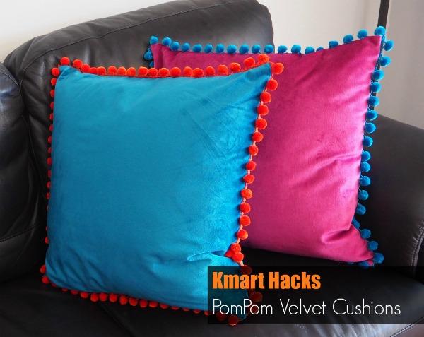 Kmart Hacks Velvet Cushions