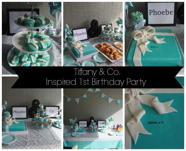 Tiffany & Co Party Ideas
