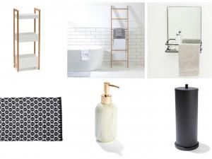 kmart bathroom accessories
