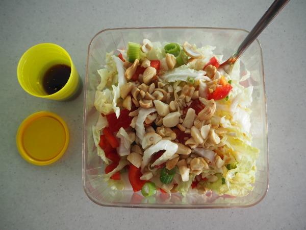 crunchy nut salad tradie's lunchbox