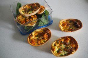 sour cream quiche tortillas tradie's lunchbox recipe