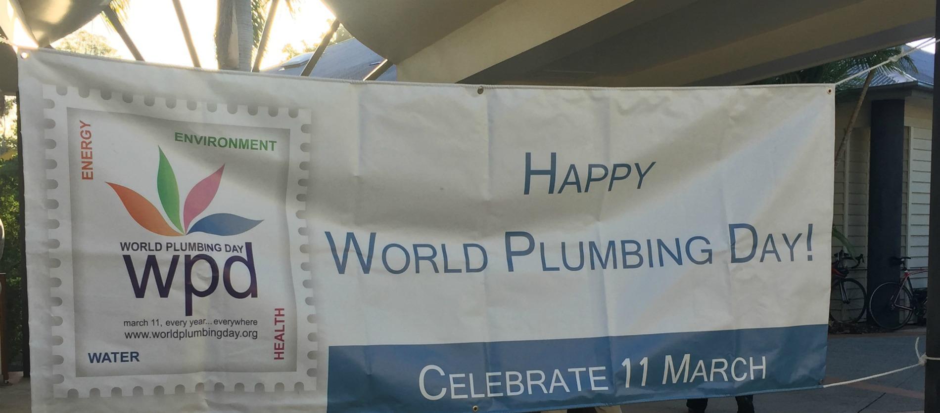 world plumbing day female ambassador for plumbing