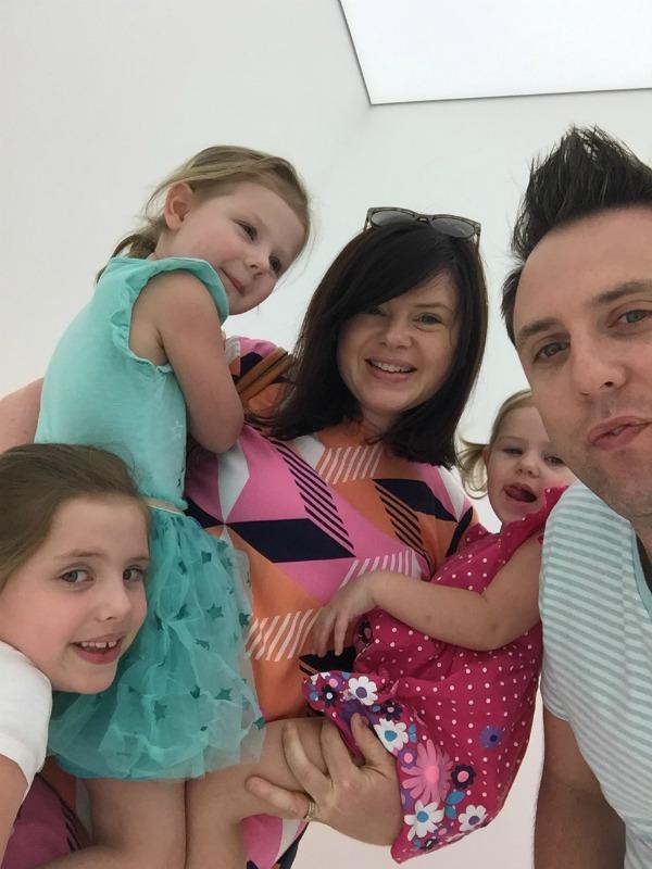 family selfie the plumbette