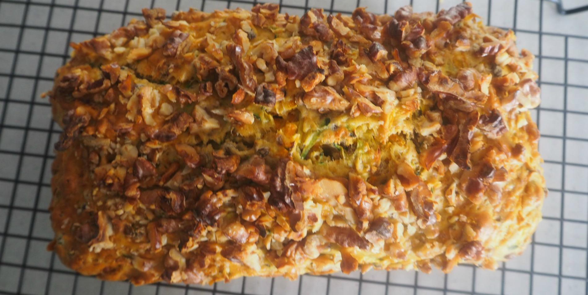tradies lunchbox vegetable and lentil loaf