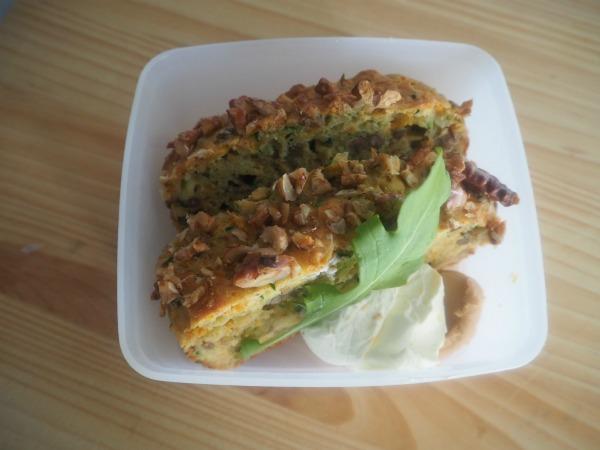 tradie's lunchbox vegetable and lentil loaf