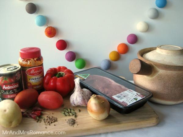 beef vindaloo slow cooked