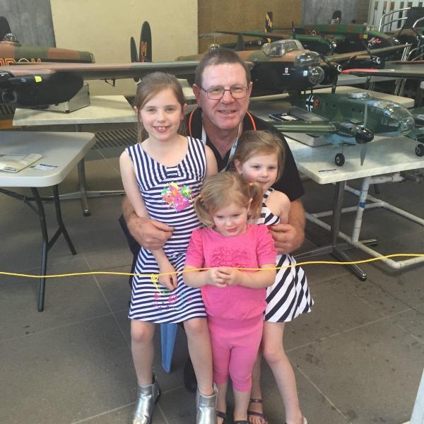 pa and grandchildren
