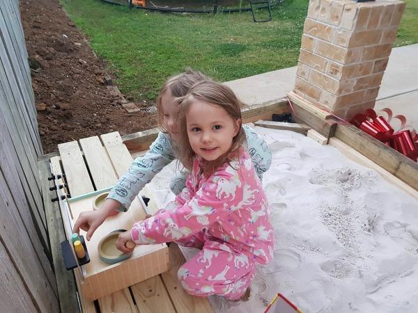 sandpit deck