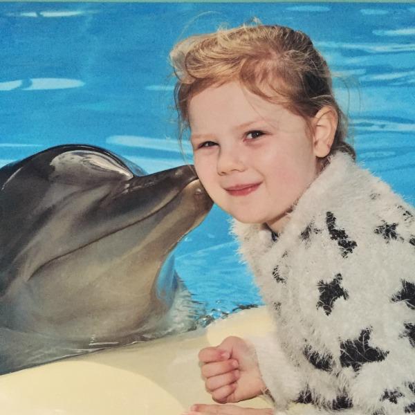 Dolphin Kiss at Dolphin Marine Magic