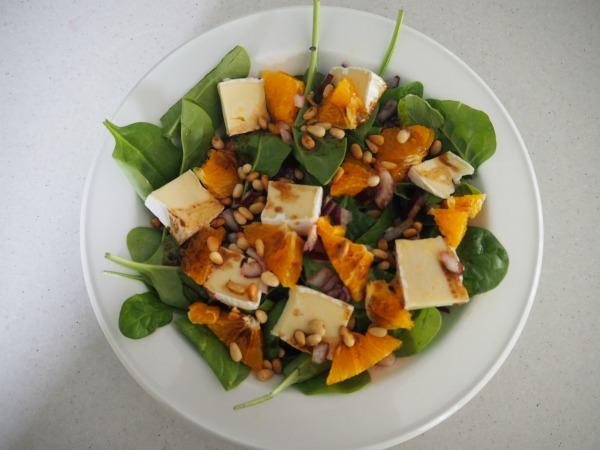 tradie's lunchbox tangelo salad