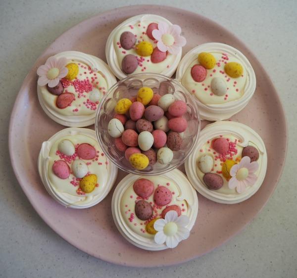 Easter Meringue Nests Cream