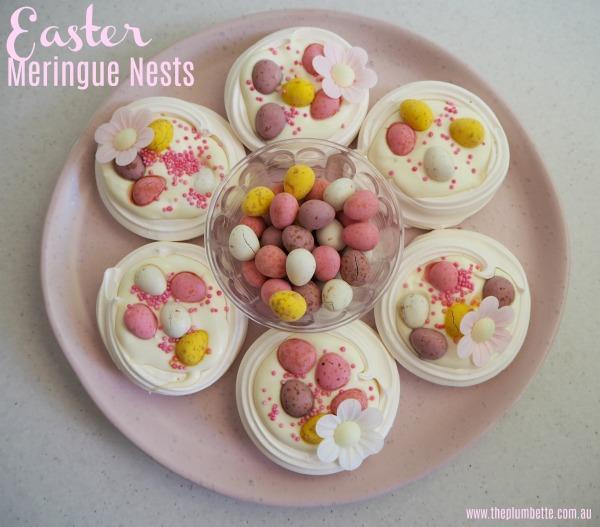 Easter Meringue Nests