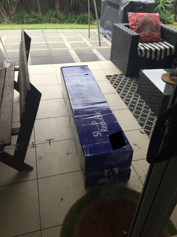 box outside sleep republic