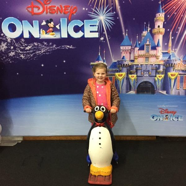 maggie at Disney on Ice