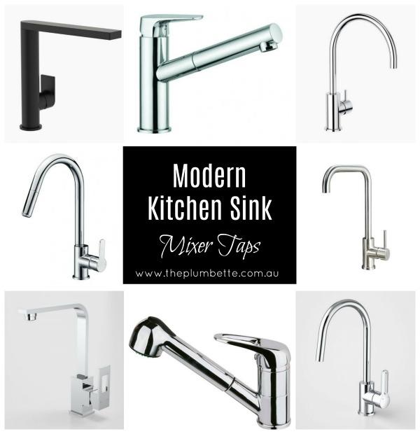 modern kitchen sink mixer taps