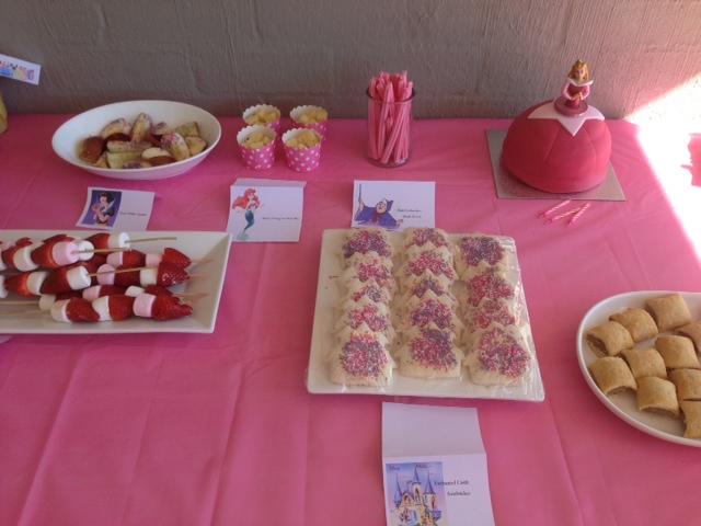 Disney Princess Themed Food