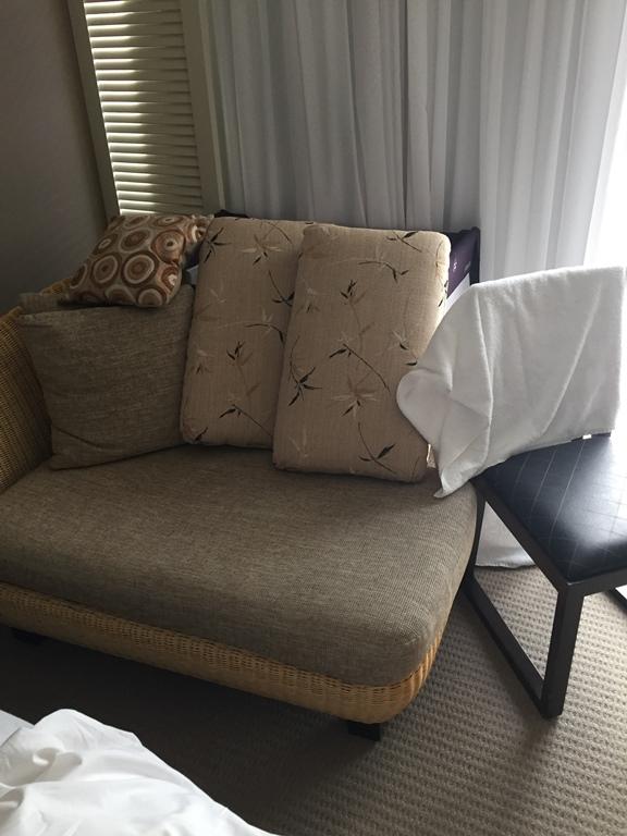 Problogger Hotel room