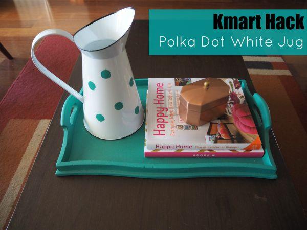 Kmart Hack White Jug