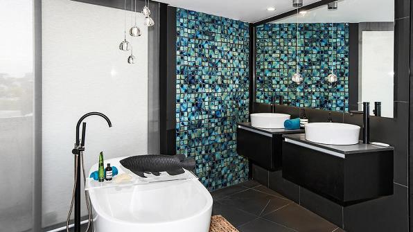 Suzi and Vonni Master Bathroom The Block