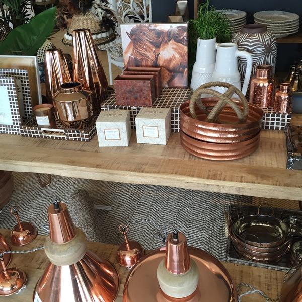 copper homewares