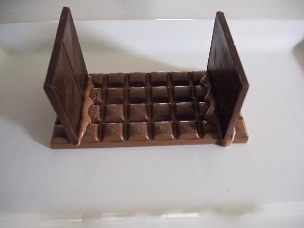 chocolate base of nativity scene Christmas