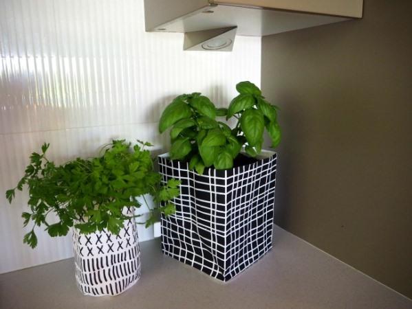 washpaper bags colour decor kitchen