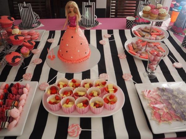 Barbie Party Food