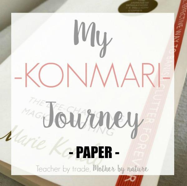 konmari method for papers