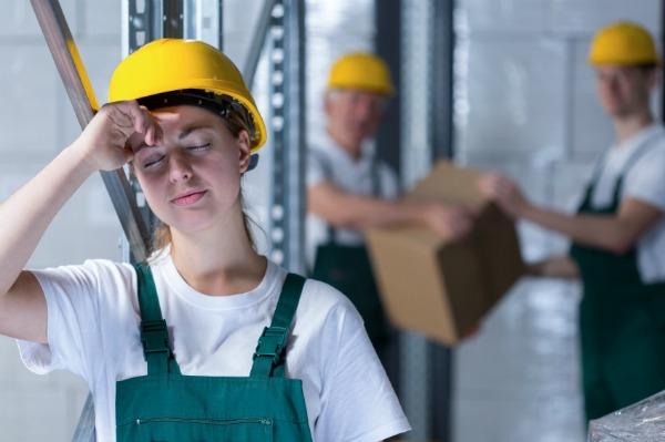 harassed female apprentice