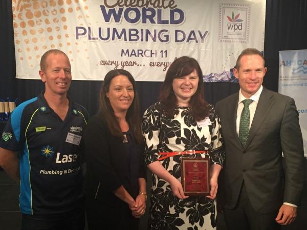 female plumbing ambassador