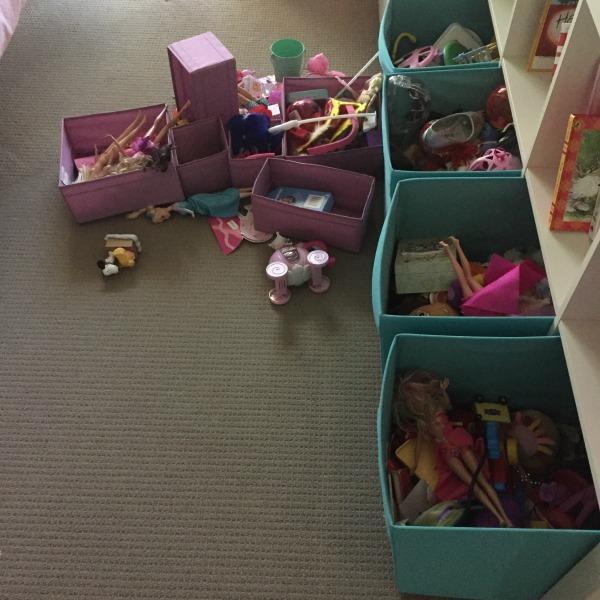 maggies bedroom mess