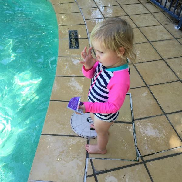 pool toddler food
