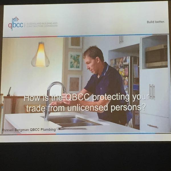 QBCC unlicensed trades