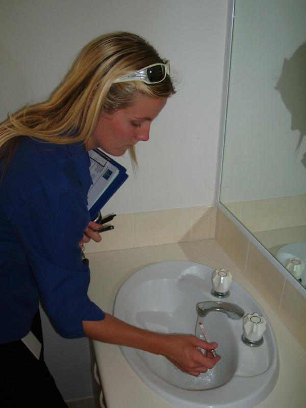 carlie plumbing inspector