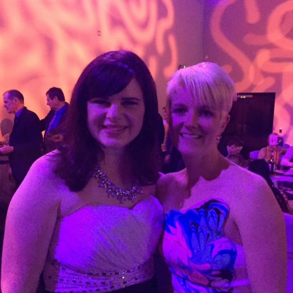 Carlie and Bec at the Plumbing Awards