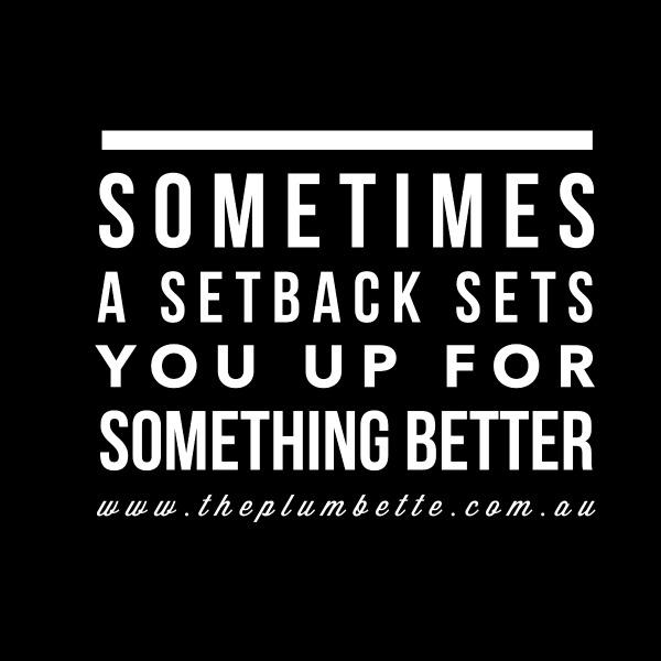 setback quote