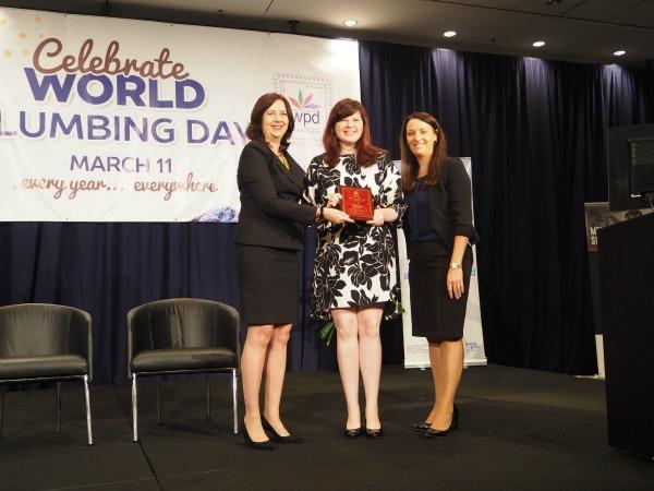 female plumbing ambassador for 2016