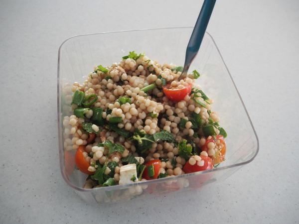 pearl cous cous salad
