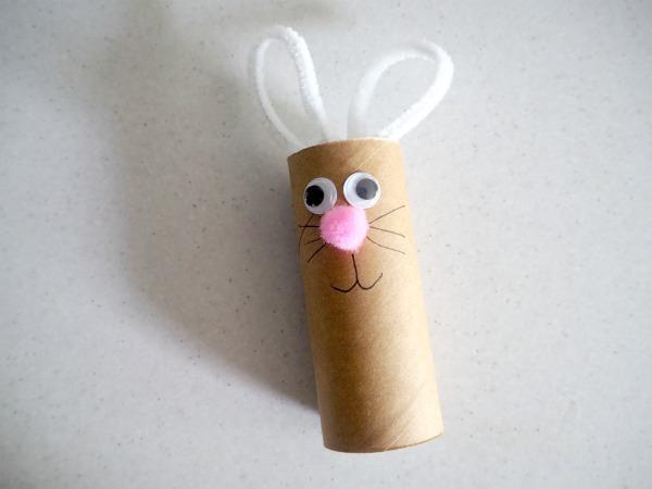 bunny toilet roll