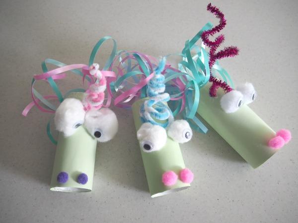 unicorn toilet roll craft