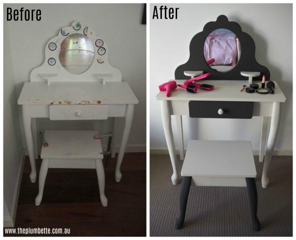 kids vanity transformation