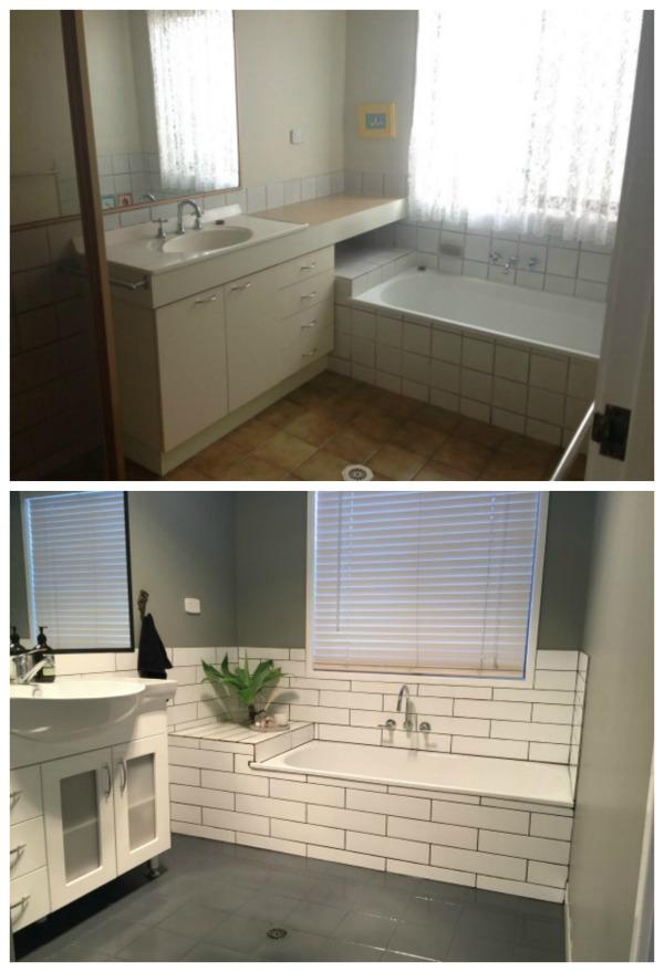 What a $1000 Bathroom Renovation Looks Like - The Plumbette