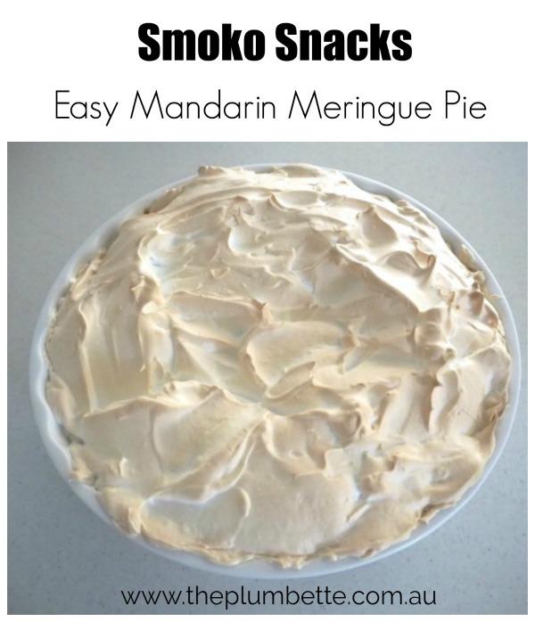mandarin meringue pie recipe the plumbette smoko snacks