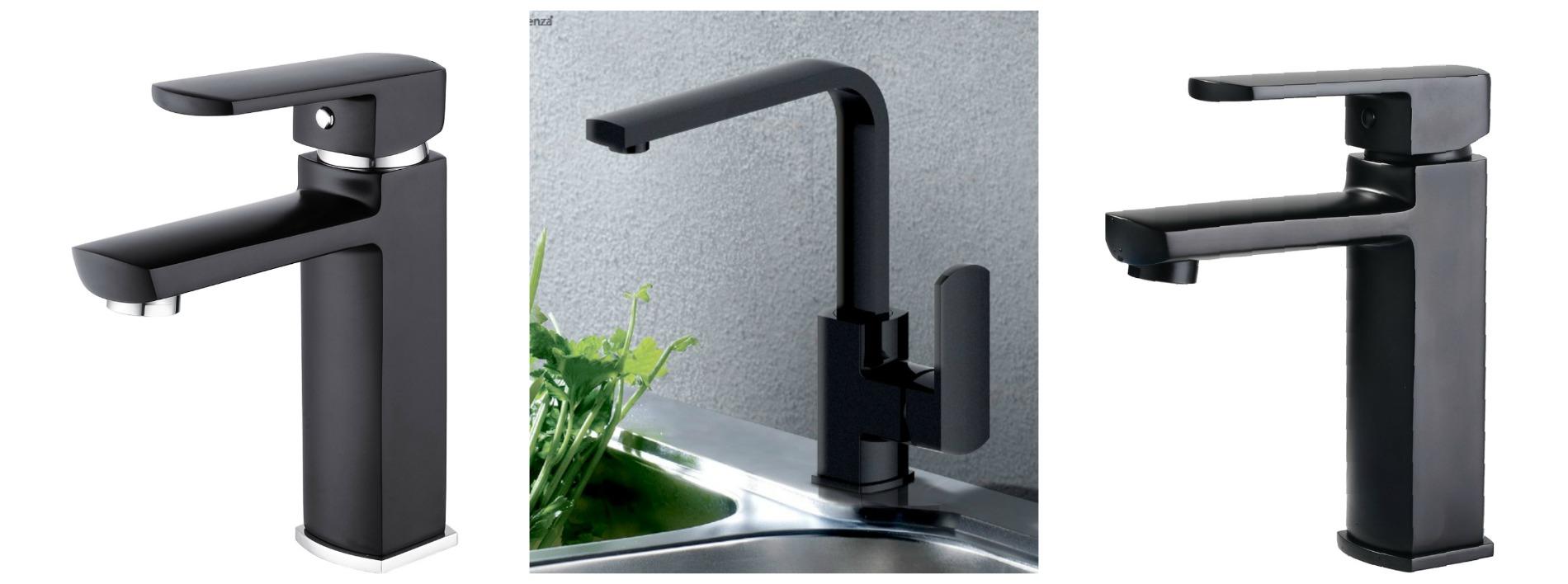 matte black tap mixer fienza