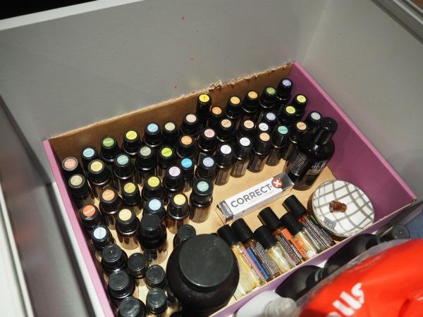 essential oil storage