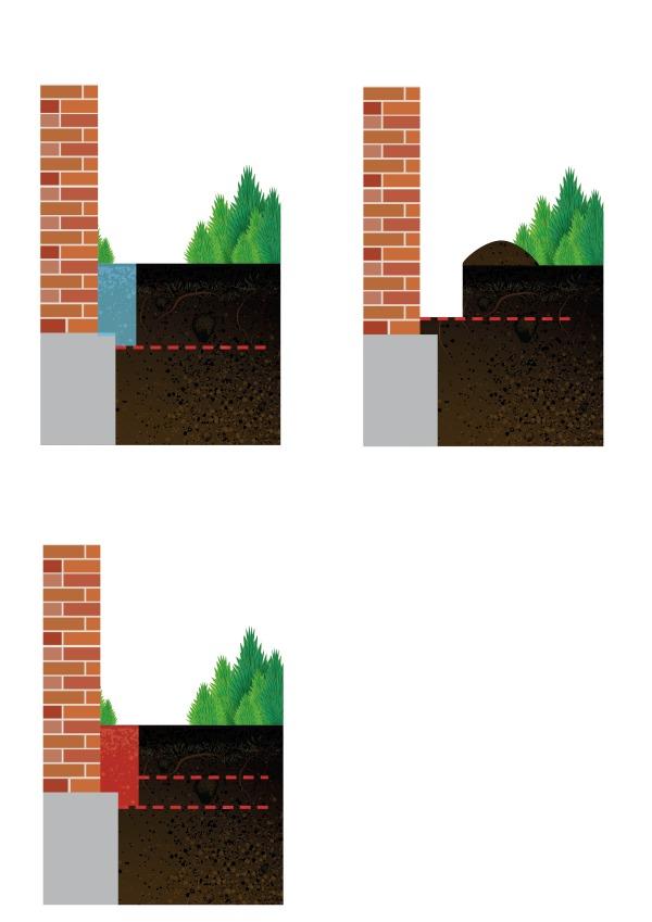 termidor wall depth termite treatment